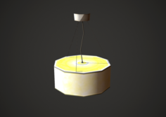 Lamp Low Poly Mobile 3D Model