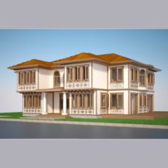 Modern Turkish House 02 3D Model