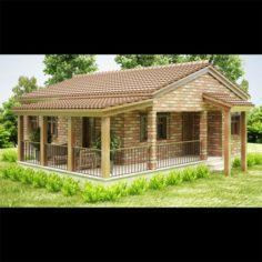 Cottage 01 3D Model