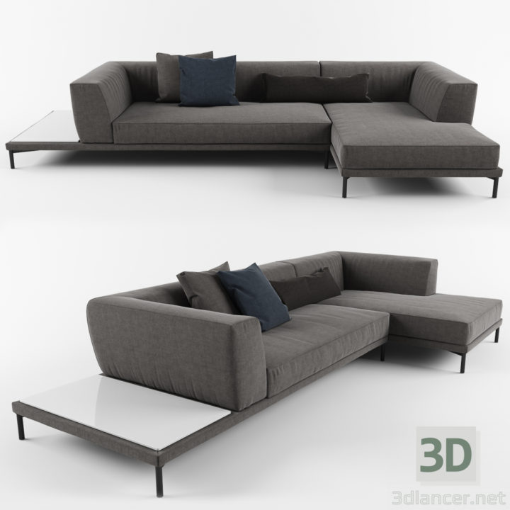 3D-Model  Armchair