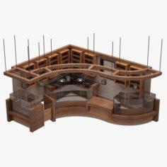 Bar Set 08 3D Model