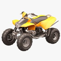 Rocky Mountain ATV 02 3D Model