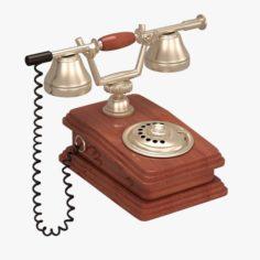 Antique Telephone 3D Model