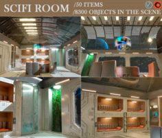 Cifi room 3D Model