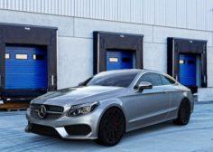 Mercedes Benz C Class Coupe 3D Model