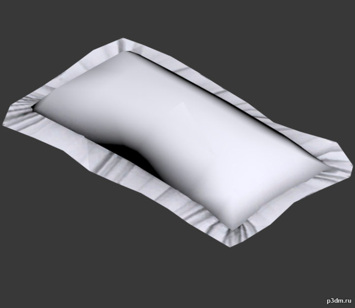 High Rent Pillow 3D Model
