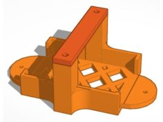 CH-Ignition Module Holder 3D Print Model