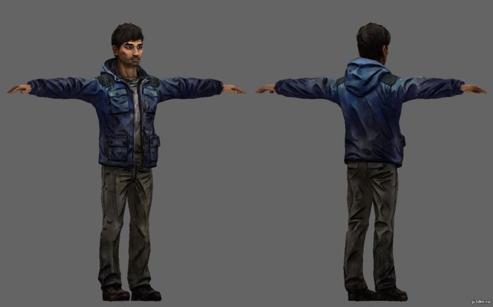 Zachary 3D Model