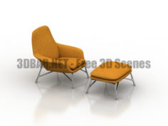 MINOTTI PRINCE Armchair 3D Collection