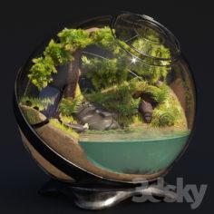 Florarium Tropical                                      3D Model
