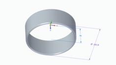 Simple ring 3D Model