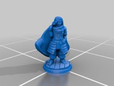 Female Cleric #D&D #DnD #Pathfinder #pocket-dungeons #pocket-tactics #multiverse 3D Print Model