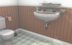 Bathroom 3D 3D Model