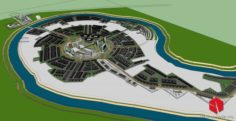 COLLECTIION 25 ARCHITECTURAL 3D MODELS URBAN PLANNING CITY PLANNING 3D Model