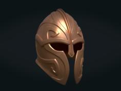 Helmet Print Ready 3D Model
