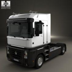 Renault Magnum Tractor Truck 2011 3D Model