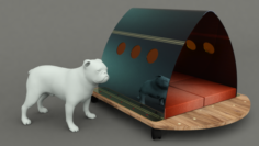 Dog House Project – House 02 3D Model