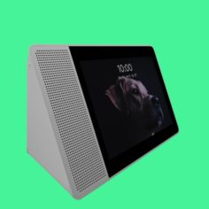 Google Assistant Lenovo Smart Display 3D Model