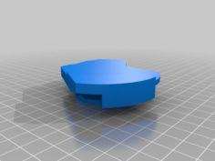 KSNA Class C Airspace 3D Print Model