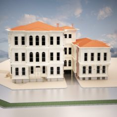 Old Turkish House 3D Model