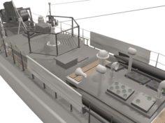 E-boat 3D Model