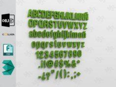 Alphabet1 3D Model