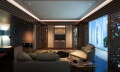 Suite Room Hotel 3D Model
