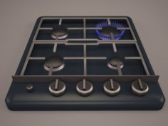 Foster gas cooktop 3D Model