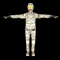Solder lowpoly 3D Model