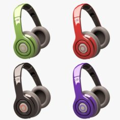 Beats Solo HD Headphone Set 3D Model