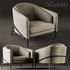 Minotti Fil Noir 3D Model