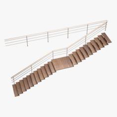 Stair 07 3D Model