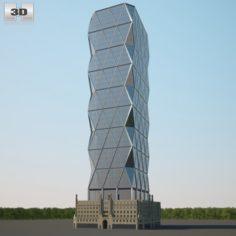 Hearst Tower 3D Model
