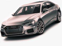 Audi A6 2019 s-line 3D Model