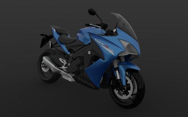 Gsx-s1000fa 2017 3D Model
