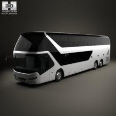 Neoplan Skyliner Bus 2010 3D Model