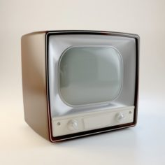 Retro Lamp TV 3D Model