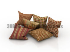 Pillows set 3D Collection