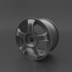 Cast disc 3D Model