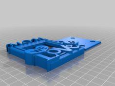 Mothers Day Fridge Magnet 3D Print Model