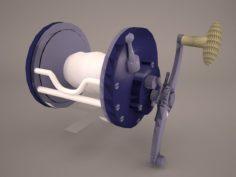 Windlass 3D Model