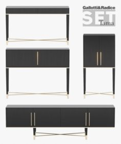 Gallotti Radice Tama Set 3D Model
