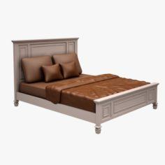Bed 01 A 3D Model