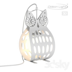 Table lamp ODEON LIGHT 4006 / 1T ULVIN                                      Free 3D Model