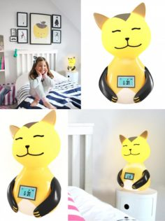 childrens night lamp-cat 3D Model