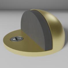 PBR Floor mounted doorstop 3D Model