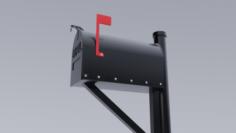 Metal Mailbox 3D Model