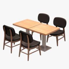 Cafe Dinner Set 11 3D Model
