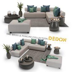 The Brixx Porcini collection – Dedon 3D Model