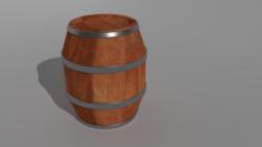 4 Barrels 3D Model